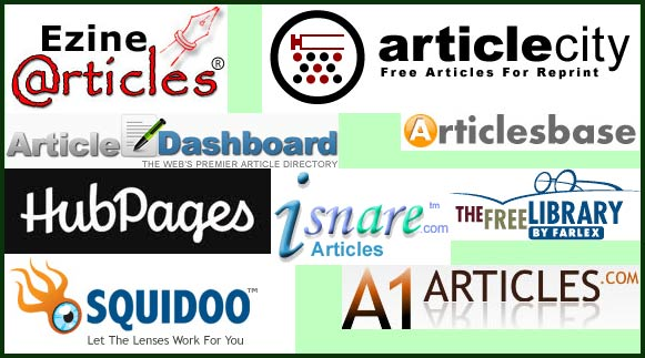 размещение статей в большом количестве каталогов