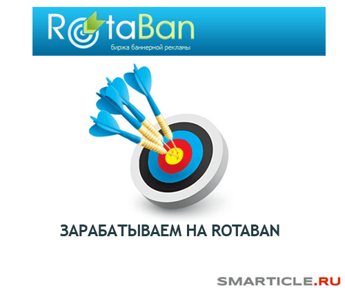 монетизация блога через баннерную сеть rotaban