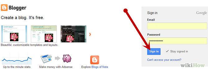Входим в аккаунт Google