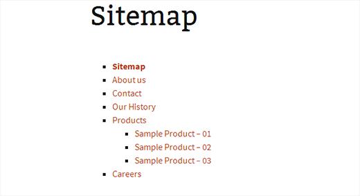 Плагин pagelist sitemap - инструмент для вывода страниц в wordpress