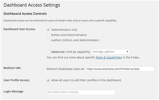 Ограничиваем доступ к админке сайта wordpress