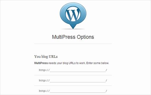 multipress расширение для WordPress