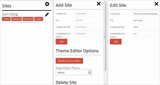 wp site manager - удобное расширение для google chrome