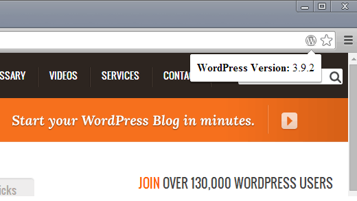 wpversioncheck - проверка версии вордпресс