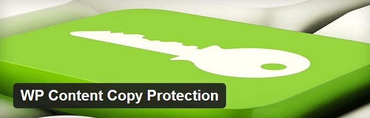 WP Content Copy Protection - защищаем текст от копирования