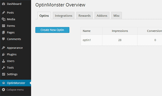 Обзор optinmonster