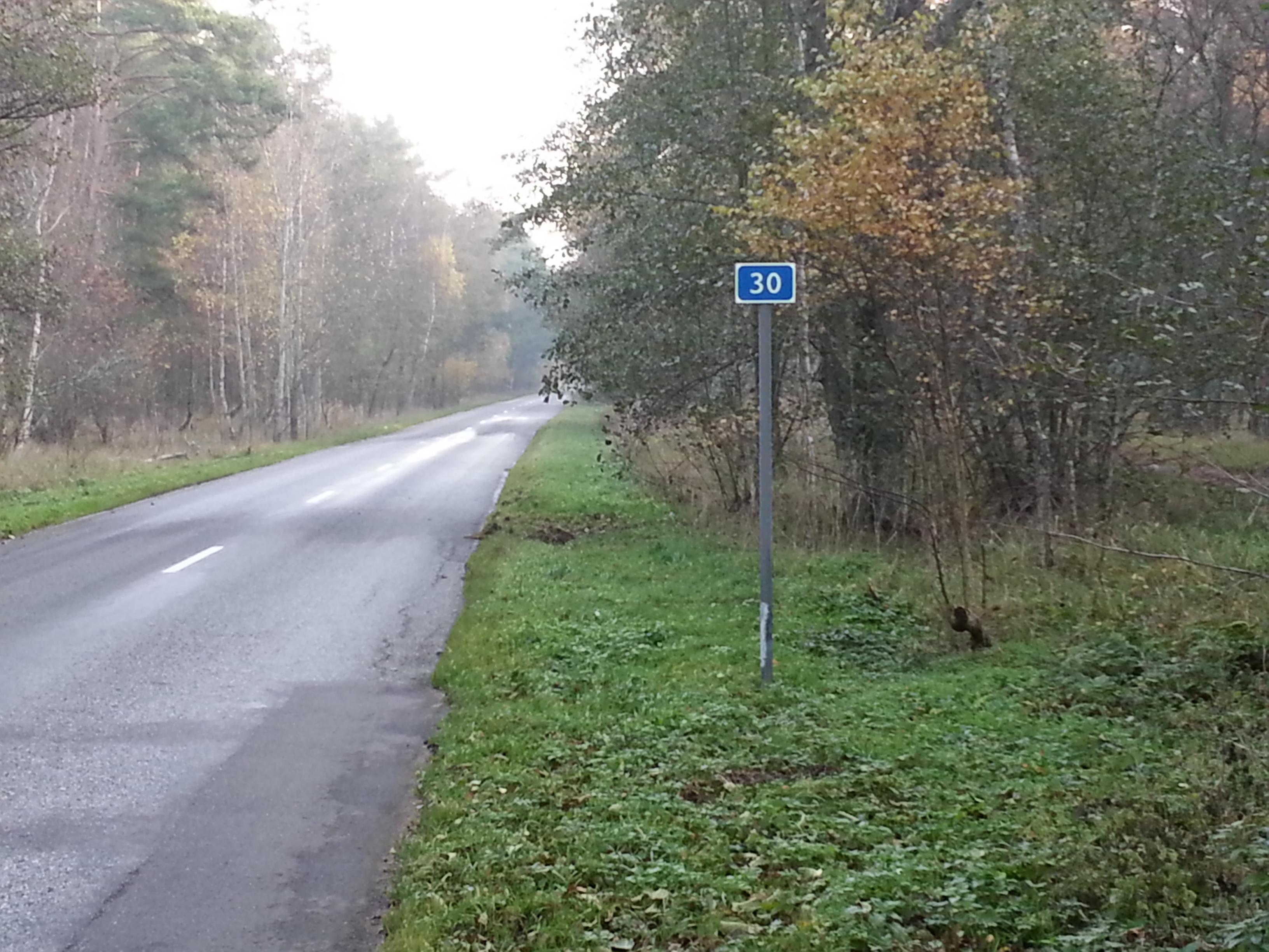 30 км моего пути на велике