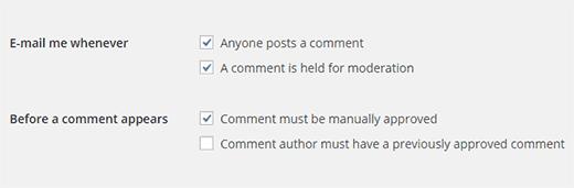 уведомление по почте о новом комментарии