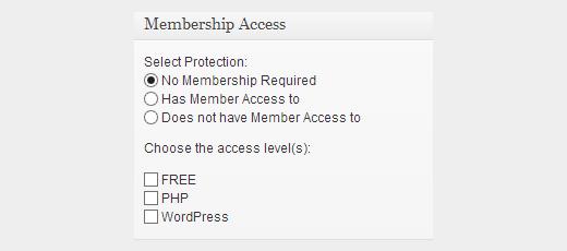 Можно редактировать уровни доступа членов сайта