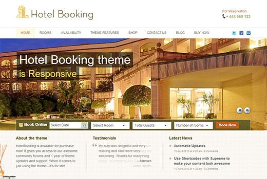templatic hotelbooking