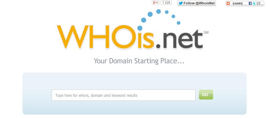 whois net