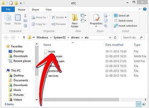 Для блокировки пользователя нужен файл hosts