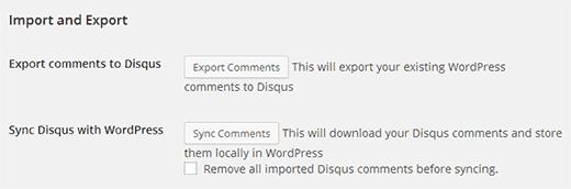 Экспорт комментариев с WordPress на Disqus