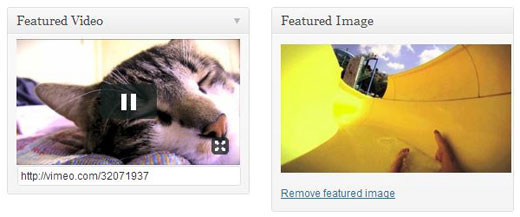 Плагин Featured Video Plus