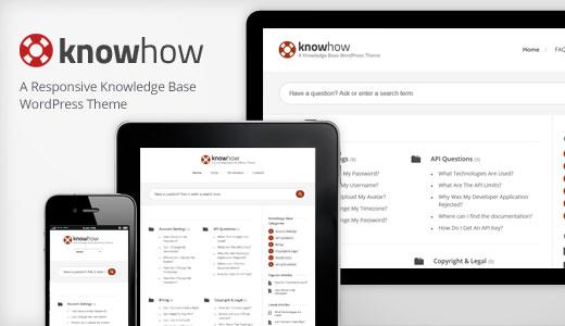 knowhow тема для создания базы знаний WIki