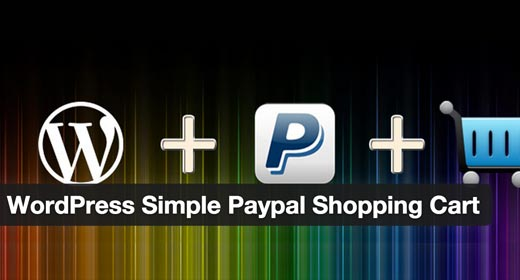wordpress simple paypal cart