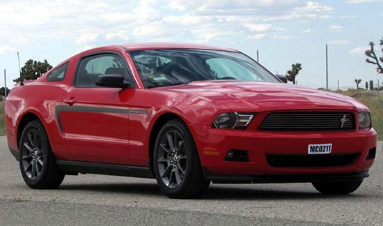 2012 Ford Mustang LX Red