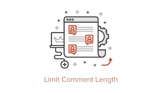 Ограничение длины комментариев в WordPress
