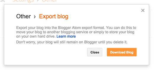 Скачиваем весь блог с blogger целиком