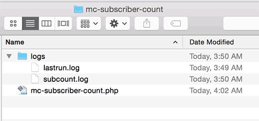 Лог файлы