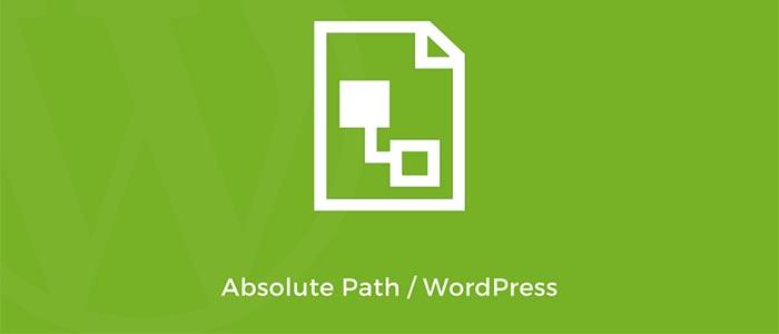 Абсолютный путь к файлу Wordpress