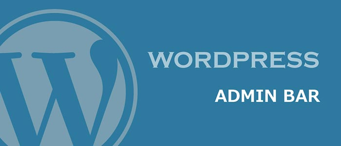 Админ бар Wordpress