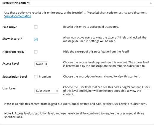 Определение ролей пользователей, кто может видеть контент