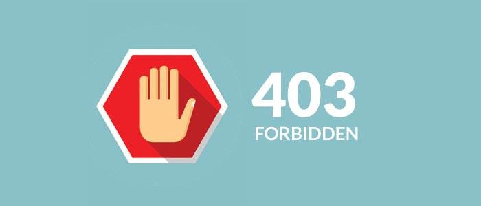 Как устранить 403 ошибку Доступ Запрещен на Wordpress