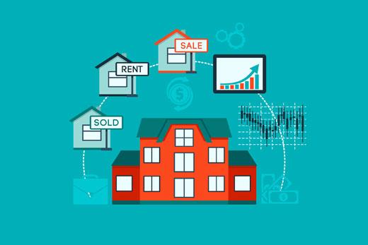 Обзор шаблонов, тем для агентства недвижимости