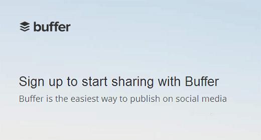 Buffer - сервис для планирования публикации контента