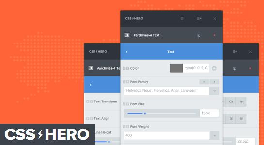 csshero - 24 плагина обязательных для установки на коммерческие сайты на 2016 год