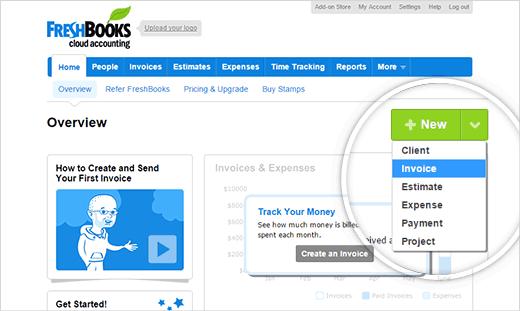 Freshbooks - плагин выставления счета на WordPress