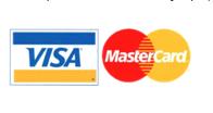 Оплата картами Visa или MasterCard