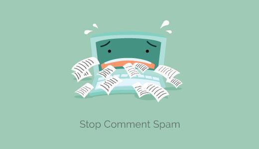 Работа со СПАМОМ в комментариях