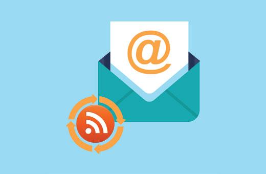 Не использование RSS для Email подписчиков