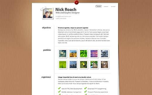 17 лучших WordPress тем для создания онлайн резюме
