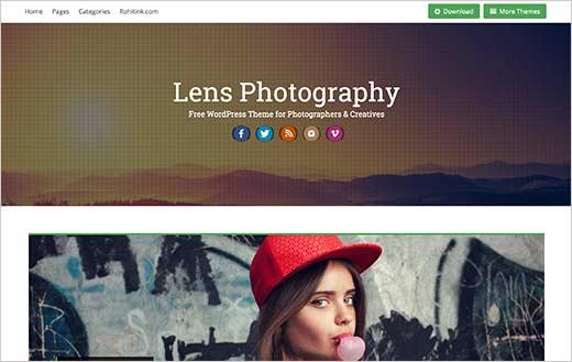 41 лучшая бесплатная тема WordPress для фотосайта