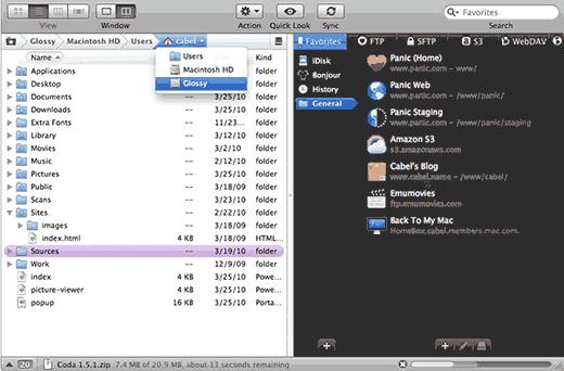 Transmit - фтп клиент для Mac устройств