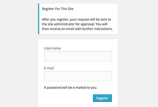 Для начала нужно войти в панель регистрации на сайт