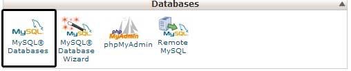 Базы данных MySql для WordPress