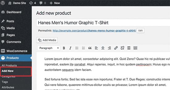 Добавление нового товара в партнерский магазин на WordPress от Amazon