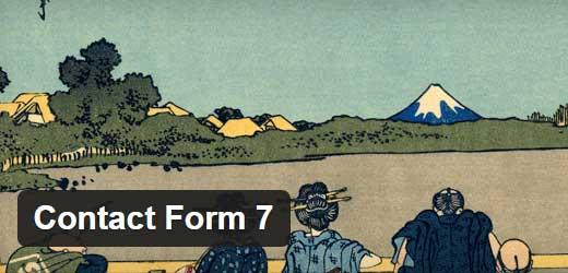 Contact Form 7 - один из лучших плагинов конструктора форм обратной связи для сайта WordPress