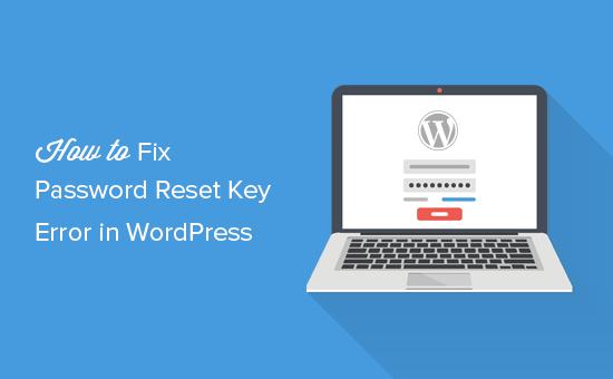 Как исправить ошибку сброса пароля в WordPress через базу данных