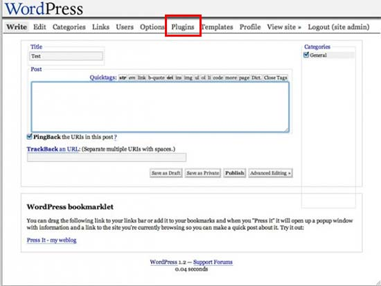 Выпуск версии WordPress 1.2 – Mingus
