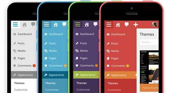 WordPress 3.8 – Parker (2013) доступна и в мобильной версии