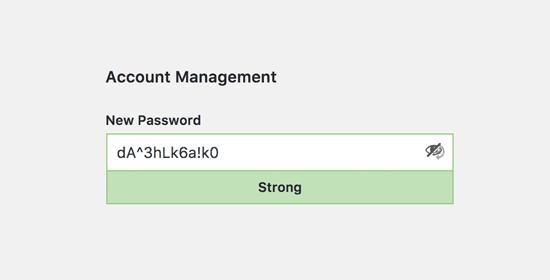 Использование сильного пароля