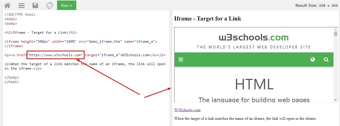 Html iframe: изучаем фреймы, атрибут target + примеры на практике