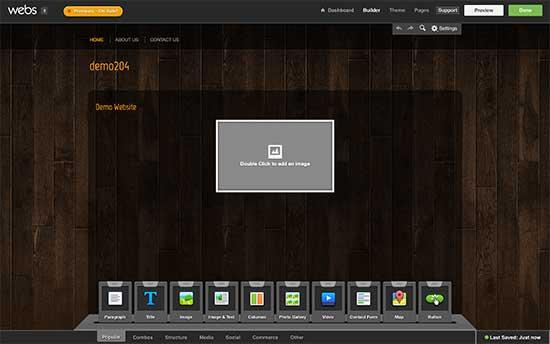 Webs.com конструктор сайтов онлайн