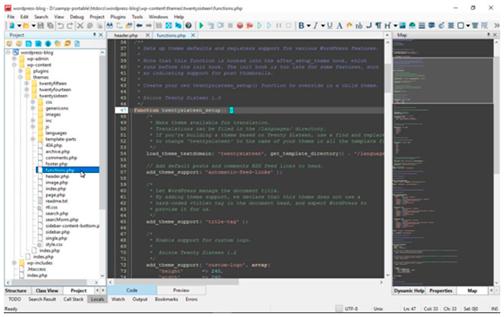 Управление цветовой гаммой редактора в зависимости от времени суток